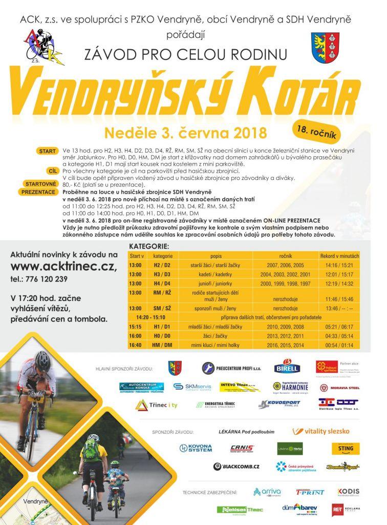 Vendryňský Kotár 2018